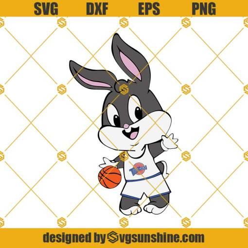 Bugs Bunny Basketball Space Jam SVG, Bugs Bunny SVG, Space Jam SVG