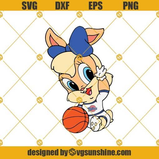Baby Lola Bunny SVG, Baby Looney Tunes SVG, Space Jam SVG
