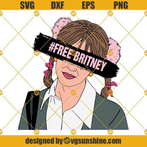 Free Britney Spears SVG, #FreeBritney SVG, Britney Spears SVG