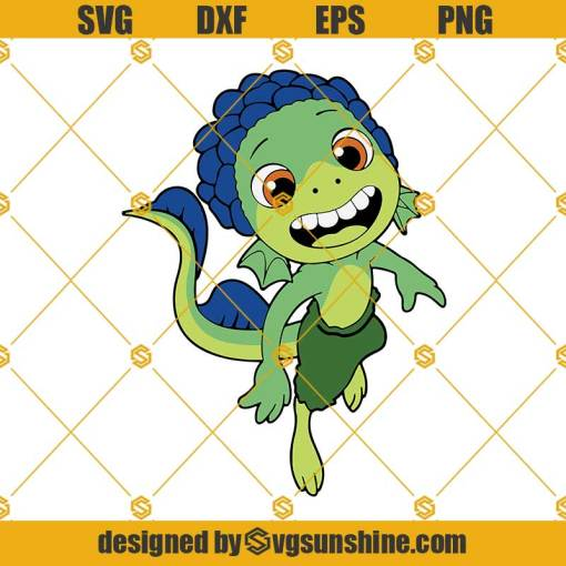 Luca SVG PNG, Pixar Movie SVG, Luca Disney SVG