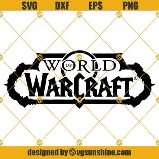 World of Warcraft Logo SVG