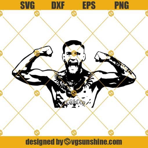Conor McGregor Svg, MMA Svg