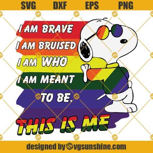 Snoopy Lgbt Svg, Lgbt Svg, Gay Svg, Pride Svg, Lesbian Svg