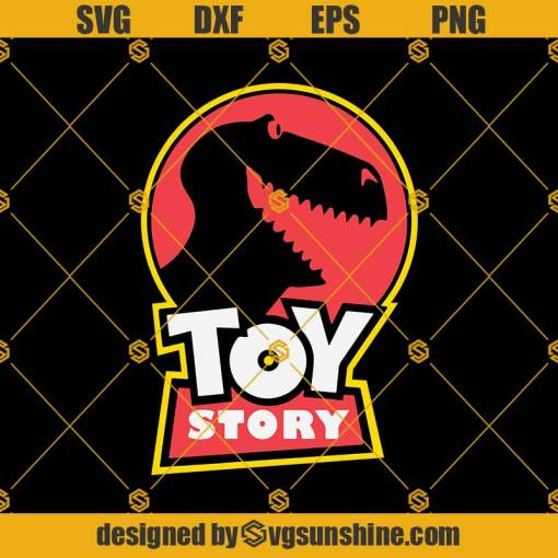 Toy Story Trex Svg, Disney Svg, Toy Story Svg