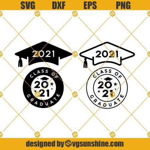 2021 Graduation Bundle SVG, Class Of 2021 Svg, Graduation 2021 Svg