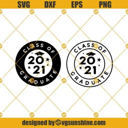 Graduate Logo Svg, Class of 2021 Svg, Grad 2021 Svg, Graduate Svg, Graduation 2021 Svg