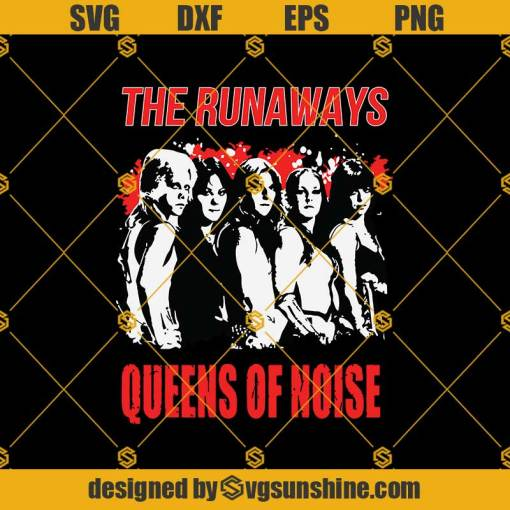 The Runaways Album Svg, Joan Jett Svg, Rock And Roll Svg