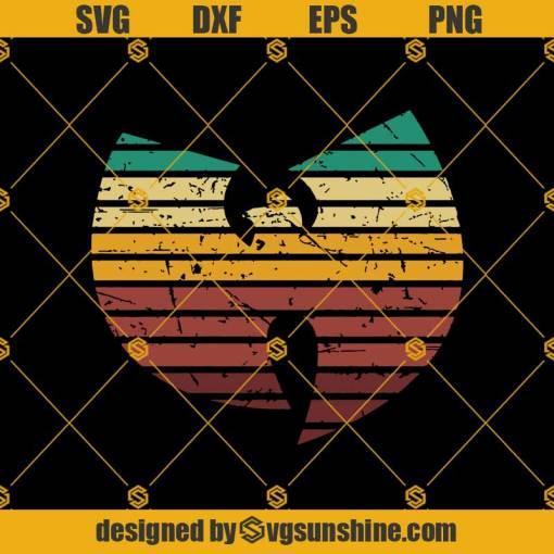 Wu-Tang Clan Retro Svg, Wutang logo Svg, Wu-tang Town Svg ,Hip Hop Svg