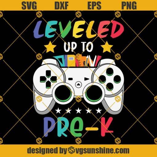 Leveled Up To 2nd Grade PreK Svg, Graduation Svg, Kindergarten Svg, Pre K Svg, Back To School Svg