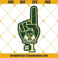 Milwaukee Bucks SVG, Milwaukee Bucks Clipart Cricut Silhouette, NBA SVG
