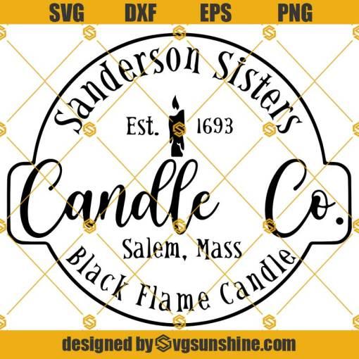 Sanderson Sister Candle Co SVG