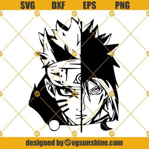 Naruto Sasuke SVG Naruto SVG, Naruto Anime SVG