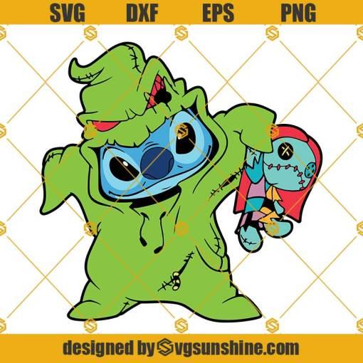 Stitch Oogie Boogie Sally SVG