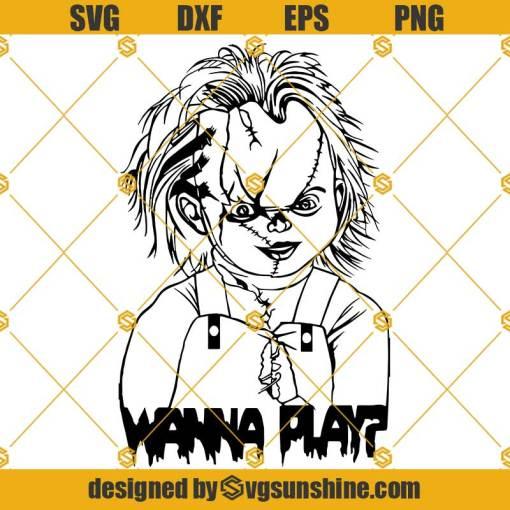 Chucky Wanna Play SVG, Chucky SVG