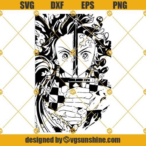 Kimetsu No Yaiba SVG, Demon Slayer SVG