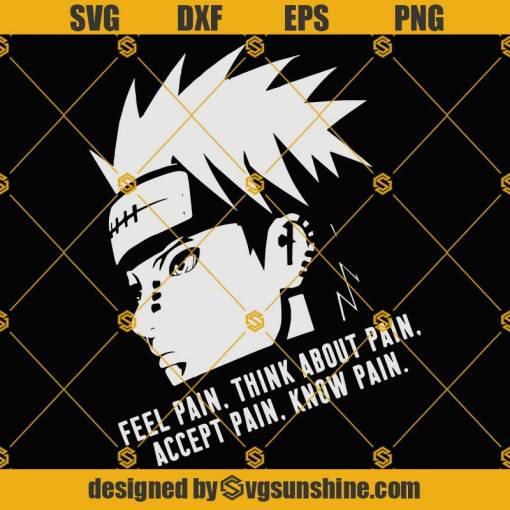 Pain Naruto SVG, Anime SVG
