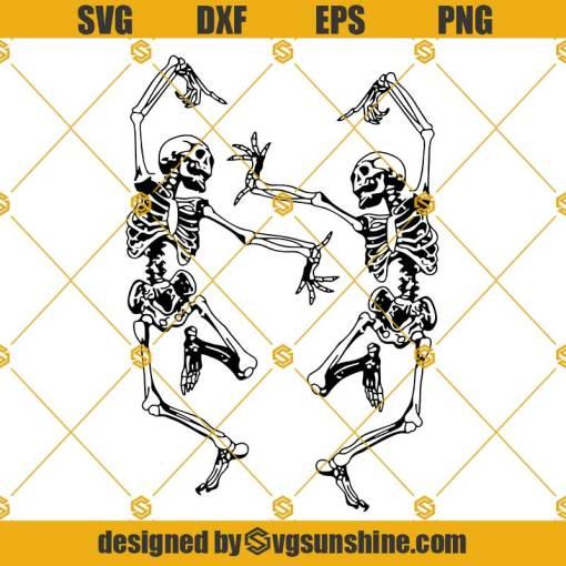 Dancing Skeletons SVG