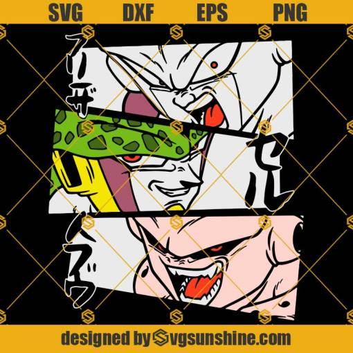 Goku SVG, Dragon Ball SVG, Dragon Ball Z SVG, Super Saiyan SVG