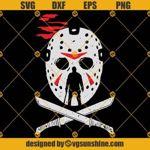 Jason Mask SVG, Jason Voorhees SVG PNG