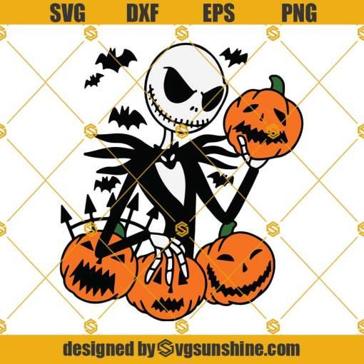 Jack Skellington The Pumpkin King SVG, The Nightmare Before Christmas SVG, Halloween SVG