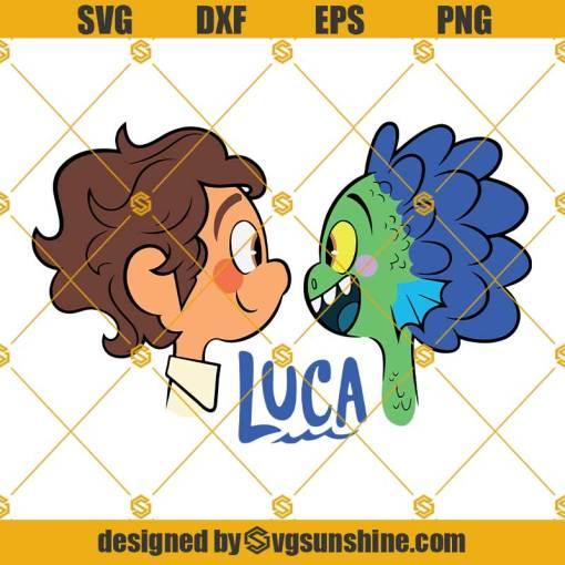 Luca SVG, Alberto Luca SVG, Luca Clipart, Luca Trending, Luca PNG DXF EPS Cricut