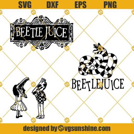 3 Files Beetlejuice SVG, Tim Burton SVG, Beetlejuice Logo SVG