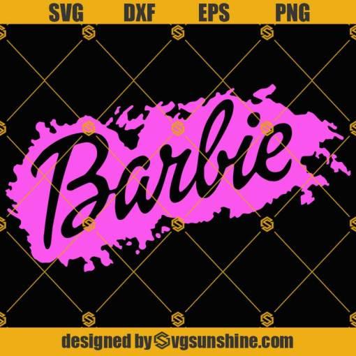 Barbie SVG Barbie PNG DXF EPS Barbie Cut Files Vector Barbie Clipart Cricut Silhouette