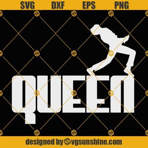 Freddie Mercury SVG, Queen Band SVG