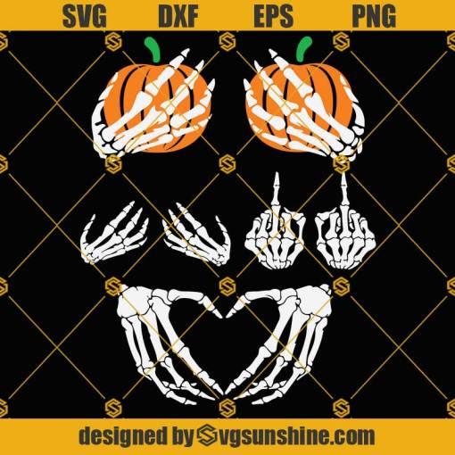 Skeleton Boob Hands SVG, Skeleton Hands SVG, Boob Hands SVG
