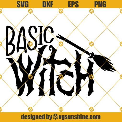 Basic Witch Halloween SVG