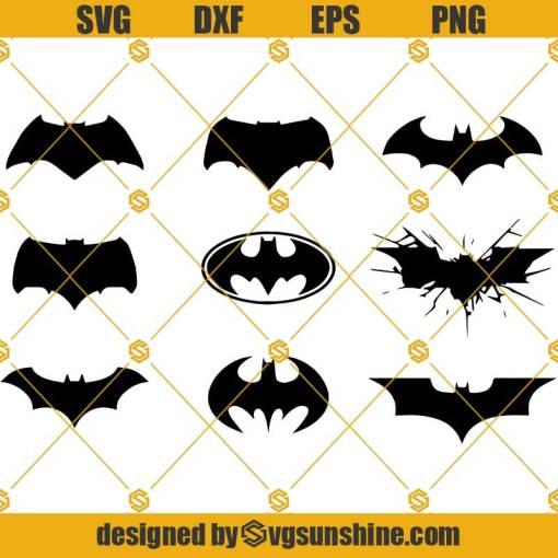 Bat SVG, Batman Logo SVG, Dark Knight SVG