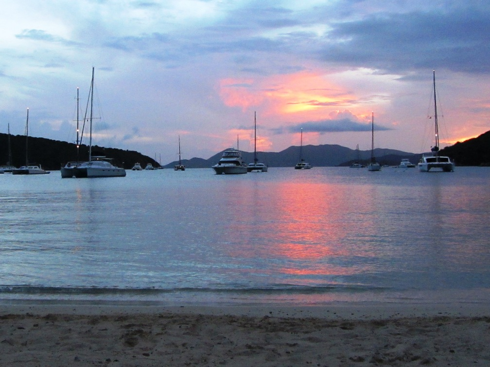Misc - Norman Island Sunset