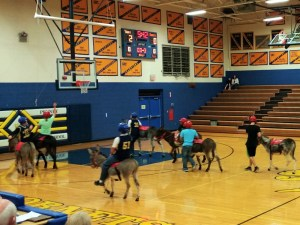 Donkey basketball 1