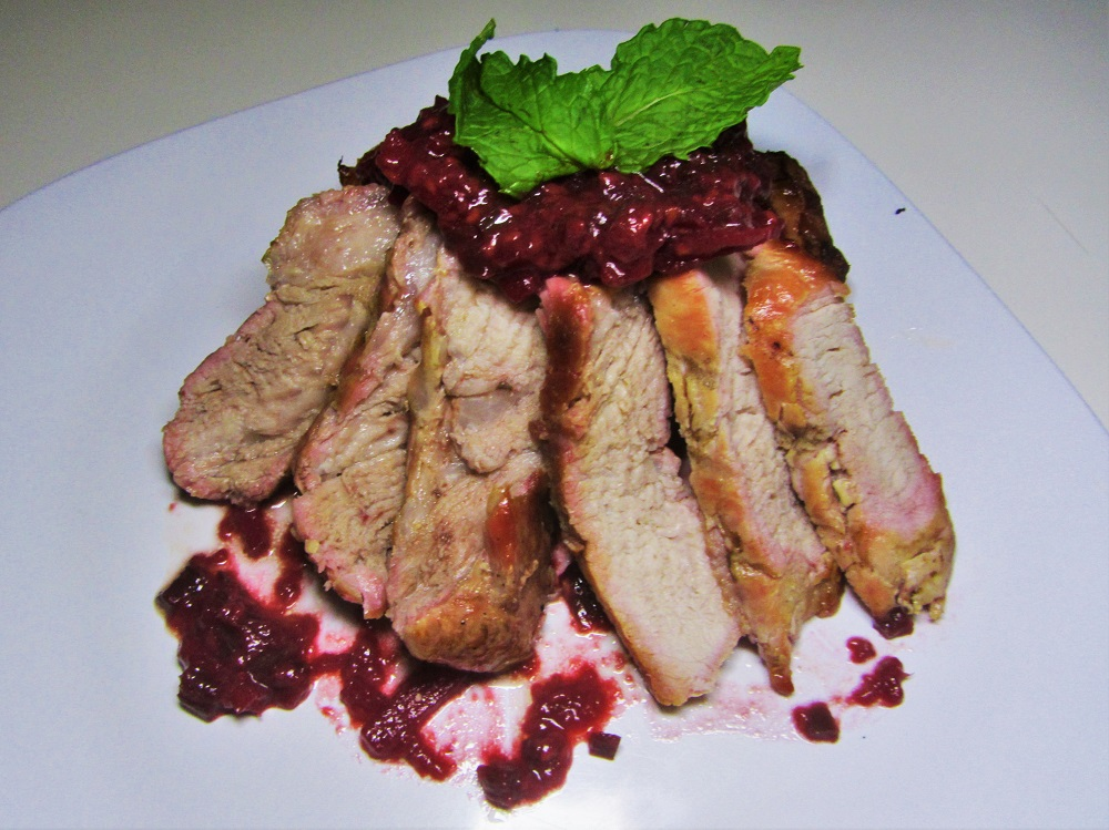 Raspberry Jalapeno Pork