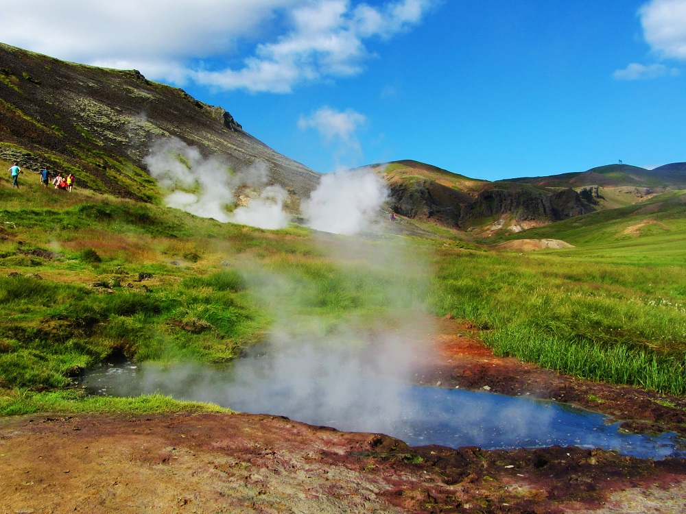 Travel - Iceland - Reykjadalur - Steam Pools