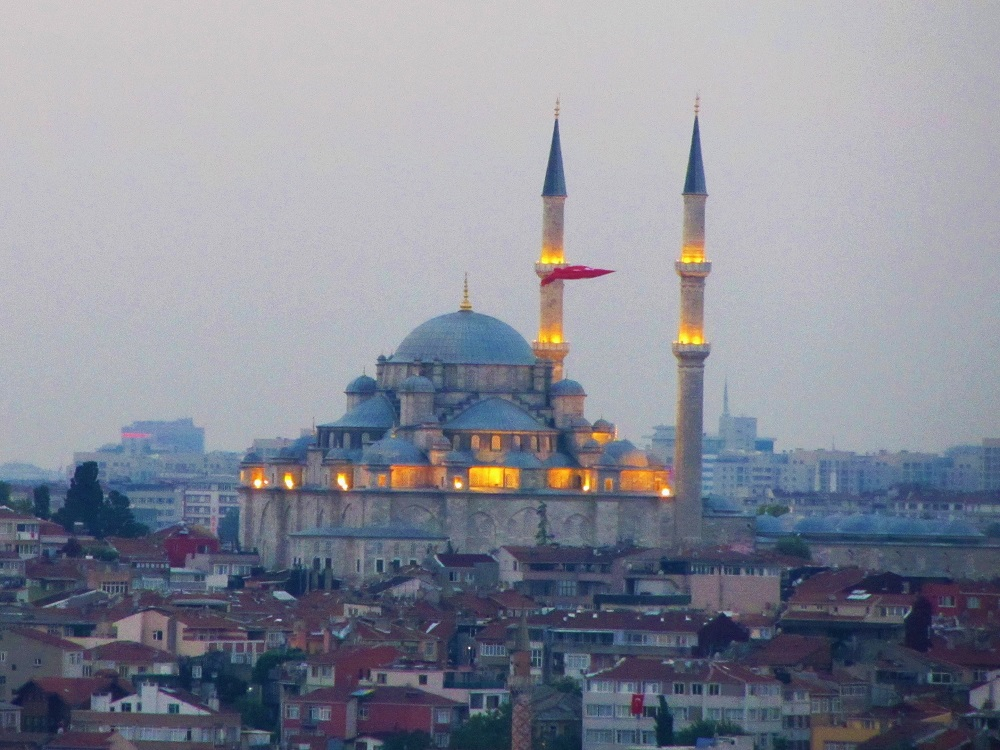 Turkey - Istanbul - Mosque At Dusk