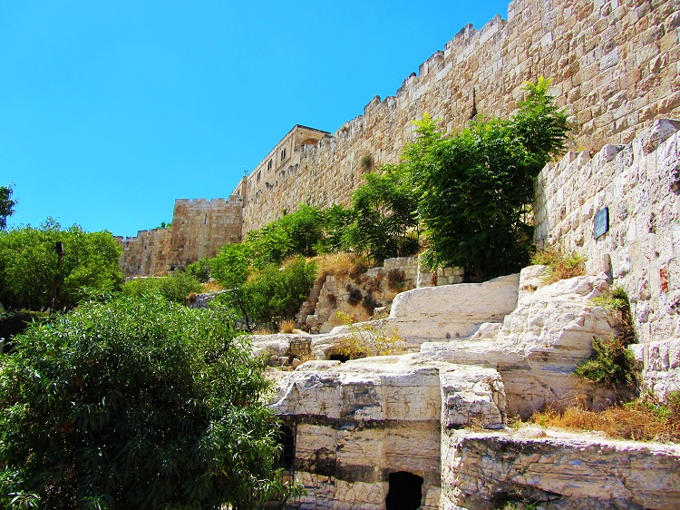 Israel - Jerusalem - City Wall & Tombs