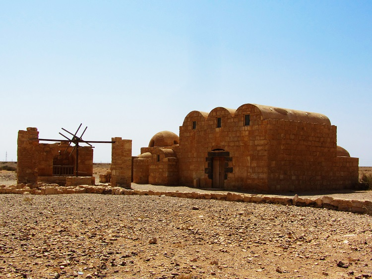 Quseir Amra from the outside