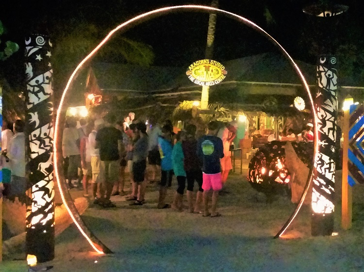 Full Moon party in Trellis Bay