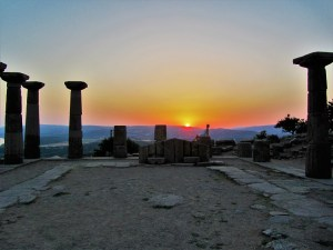 Athena Temple in Assos, Turkey