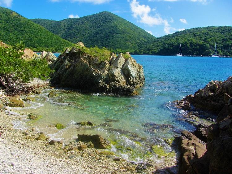 St John Lambshur Bay From Rocks