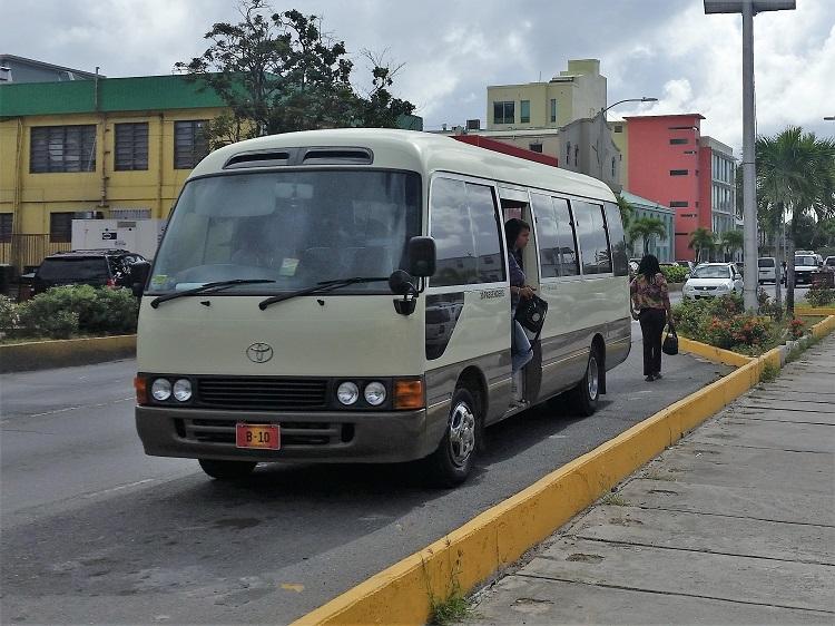 Tortola bus