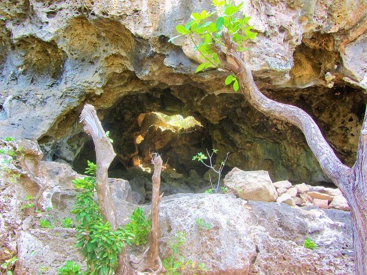Cave in Barbuda