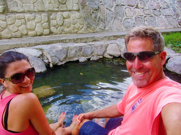 Hot Springs on Nevis