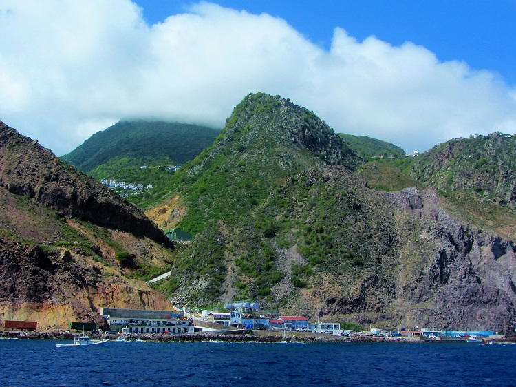 Saba - Anchorage - Fort Bay