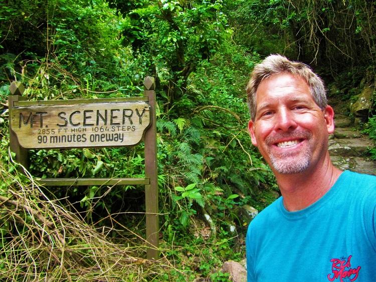 Saba - Mt Scenery - Start