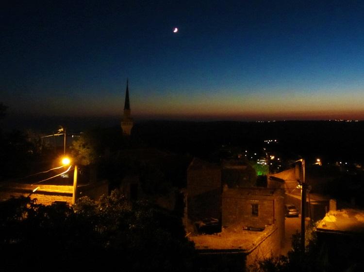 Sunset in Assos, Turkey