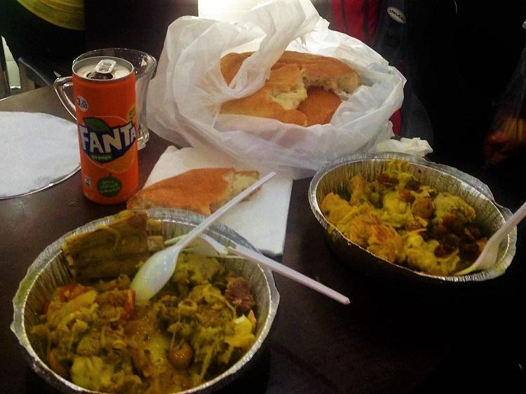 Dinner in Laayoune