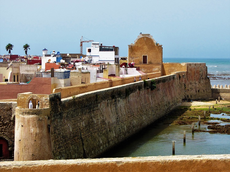 El Jadida harbor wall