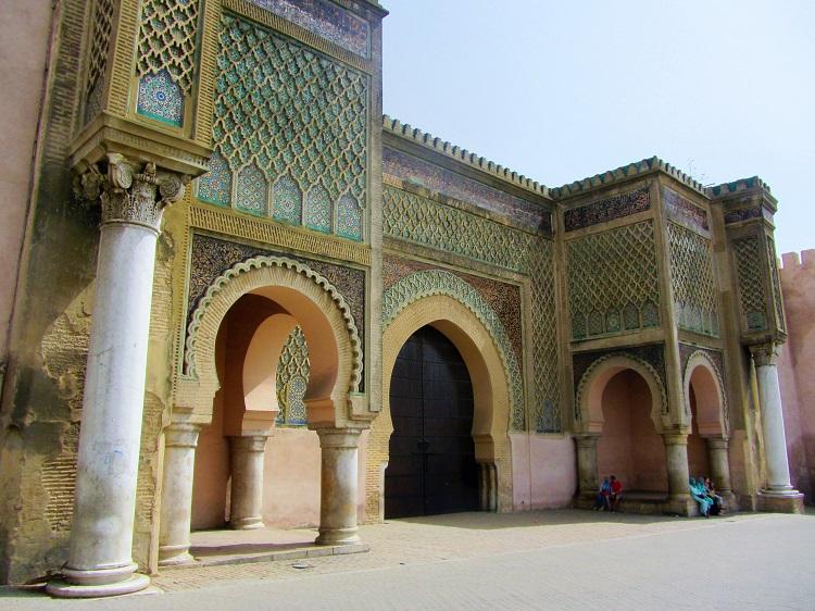Bab Mansour gate